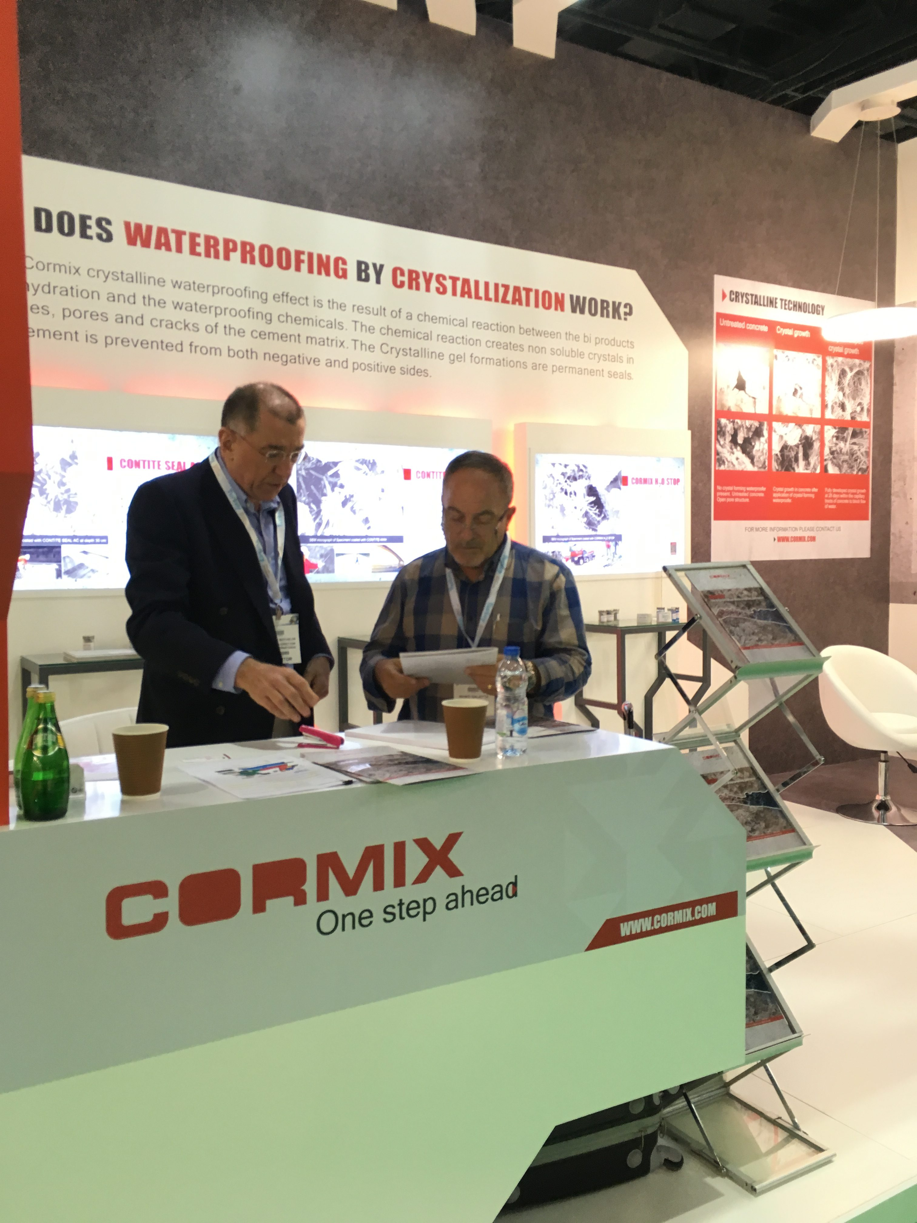 Cormix relaunched waterproofing by crystallization at The