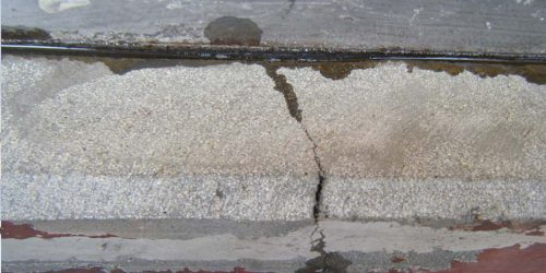 Repair Dry Crack on Concrete by SC-Gravity Feed