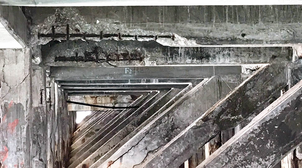 Pic-problem corrosion at structure_N